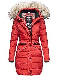 Navahoo Damen Winter Jacke Mantel Parka warm gefütterte Winterjacke B383