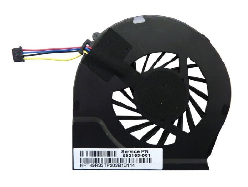 Racksoy Ersatz CPU-Lüfter Kühler Fan für HP G4-2000 G6-2000 G7-2000 G6-2278DX series 683193-001 685477-001