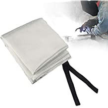 Manta de soldadura, resistente fibra de vidrio, manta de supervivencia de emergencia, manta