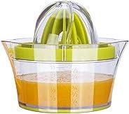 عصارة برتقال يدوية مثالية مستخرج عصير الليمون الطازج عصارة الليمون عصارة ريمر 4 في 1 متعددة الوظائف قياس كوب ا