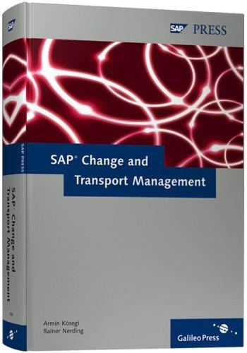 SAP Change and Transport Management by Armin K??segi (2006-03-28)