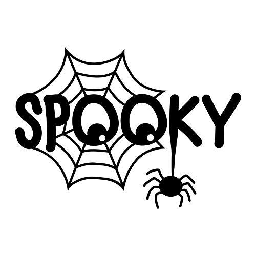, gruselig, 56 x 79 cm, Spinnennetz-Augen, Halloween-Dekoration, für Teenager und Erwachsene, für drinnen und draußen, für Fenster, Wohnzimmer, Büro ()