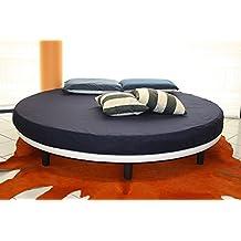 lit rond. Black Bedroom Furniture Sets. Home Design Ideas