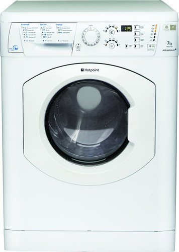 Hotpoint Aquarius+ WDF740P 7 Kilogram / 5 Kilogram Washer Dryer with 1400 rpm - Polar White - B Rated