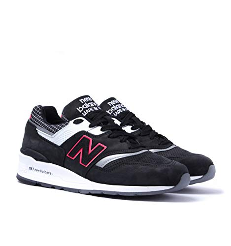 timeless design efbca 79aa5 New Balance 997 Made in The USA Black Contrast Trainers - UK 8.5