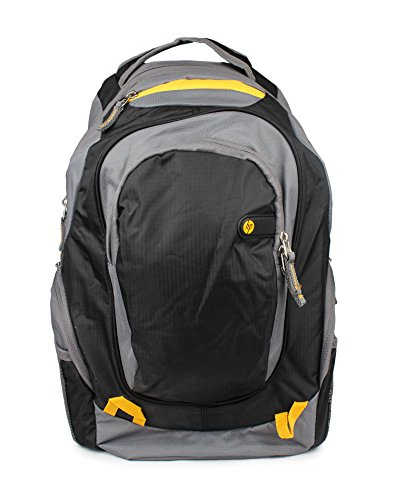 HP Laptop BackPacks F3W18AA Grey & Yellow