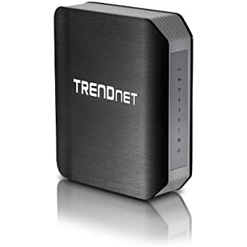 TRENDnet TEW-812DRU AC1750 Wireless Dual Band Gigabit Cable Router (2.4GHz 450Mbps, 5GHz 1300Mbps)