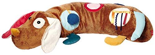 sigikid, Mädchen und Jungen, Aktiv-Spielkissen Hund, Play-Q, Mehrfarbig, 40999