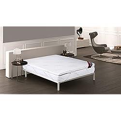 Imperial Confort 617603, Topper Viscoelástico, 135 x 180 cm - Grosor 8 cm