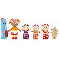 Kids In The Night Garden Figurines Gift Box with carry handle containing 6 Characters, up to 10cm tall, Toddler Girl Toys and Toddler Boy Toys 1648