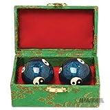 Cloisonne Balls - Yin & Yang Baoding Bal...