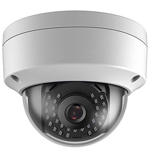 KoMon Caméra IP Extérieur,Caméra de Sécurité 4MP Sans Fil, Etanche IP66 WDR DS-2CD1121-I 4mm