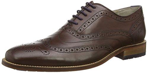 ClarksPenton Limit - Scarpe stringate uomo, Marrone (Braun (Chestnut Leather)), 39.5