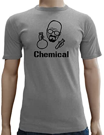 Touchlines - Heisenberg Chemical SLIMFIT T-Shirt Ash, XXL
