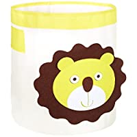 FABELBUNT® Large toy boxes storage bins with animal motifs (33 Ltr. capacity)