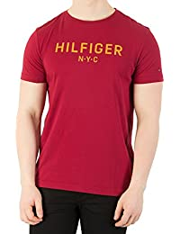 Tommy Hilfiger Men's Graphic T-Shirt, Red