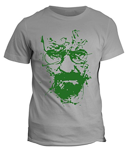 Tshirt breaking bad - heisenberg - walter white - serie tv - telefilm - in cotone by fashwork