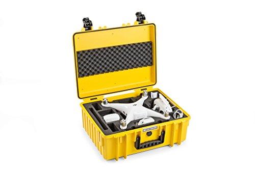Accesorios para Drones B&W Copter Case Type 6000/Y gelb DJI Phantom 4 Pro Inlay
