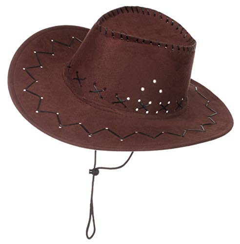 Kleinkind Cowboy Hut - Brandsseller Karneval Kopfbeckung/Hut/Mütze Kostüm/Fasching/ - [