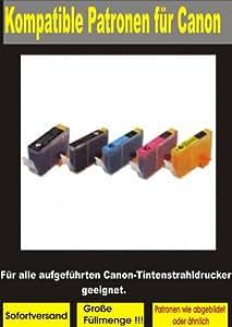 P4L – Cartouches 5x, compatibles pour Canon Pixma iP3600 / iP3680 / iP4600 / iP4680 / iP4700 / MP 550 / MP 560 / MP 620 / MP 630 / MP 640 / MP 980 / MP 990 / 860 MX / MX 870