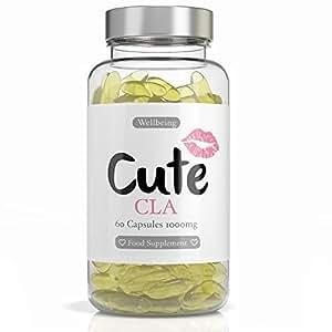 CAPSULE DI CLA Brucia Grassi Naturale - 1000 mg di Acido Linoleico Coniugato per Capsula - Integratore Alimentare per Dimagrire la Pancia e Mettere su Muscoli - In Omaggio Guida per Perdere Peso
