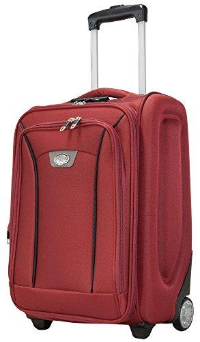 Copenhague Rouge Taille M Tissu en nylon 600 D Plastique Valise trolley Case FA. Valise bowatex