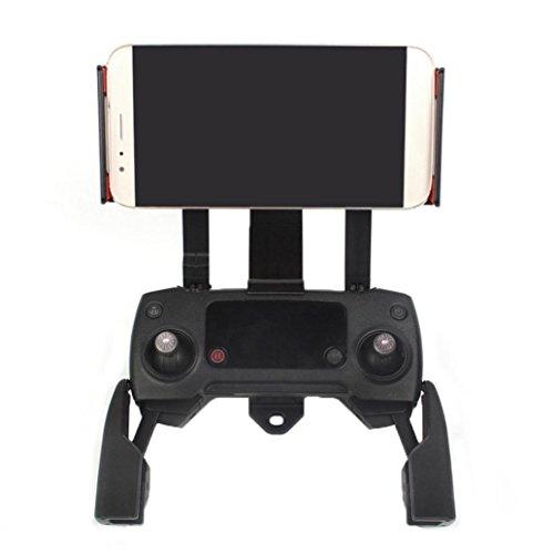 bescita Mobiltelefon-Tablet 360 ° Drehen Halter Extender Halterung für DJI Mavic Pro/DJI Spark Monitor, 115-186 mm, Schwarz (Dji-monitor-halterung)