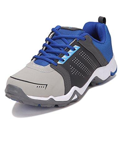 Yepme Men's Multi-coloured Mesh Sports Shoes