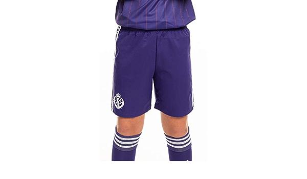 Unisex Children Real Valladolid Football Club Pants Second Team for Children berry CE8716 unisex/_child