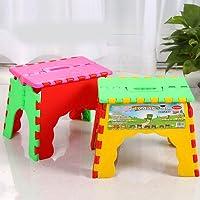 Preisvergleich für Taiwest-Folding Step Super Qualität Tritthocker, Zusammenklappbar ideal für Kinder und Erwachsene, 1Stück Zufällige Farbe Zufällige Farbauswahl