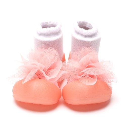 Attipas Bébé et Enfant Chaussures UK 0/2 ; Euro 18/19 - Rose - Rose,