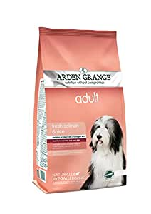 Arden Grange Dog Food Adult Salmon and Rice 12 Kg