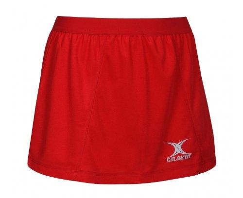 Blaze - Jupe short de Netball - Marine Rouge - Rouge