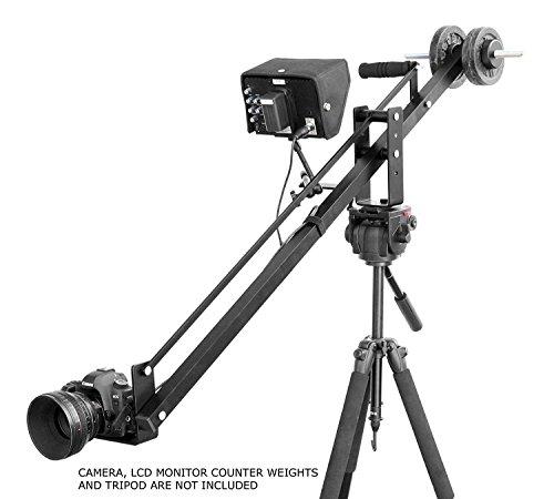 Filmcity-Mini-Portable-4Ft-Camera-Jib-Crane-Arm-Fc-Flt-4-For-Tripod-Movie-Shoot-Film-Making-Wedding-Video-Dslr-Sony-Nikon-Canon-Panasonic-Lumix