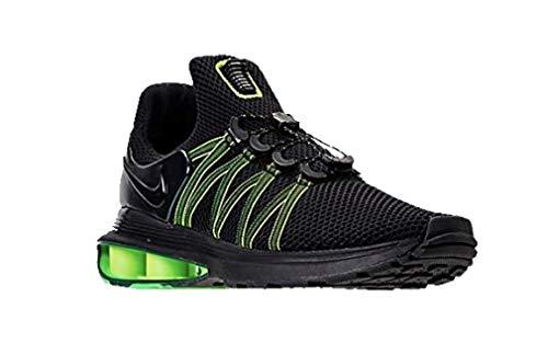 Nike Men's Shox Gravity Black/Black/Black Nylon Running Shoes 9.5 D(M) US