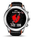 XIYANG Smart Watch, Android 5.1 MTK6580 Quad Core 1 GB / 8 GB 3G Wifi GPS Pulsmesser Handy Smartwatch Für Anrioid (Schwarz)
