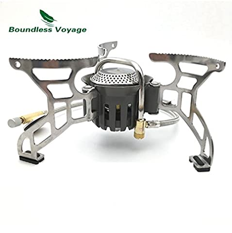 Portable Camping Gas Stove for Outdoor Cooking Small Lightweight Big Power