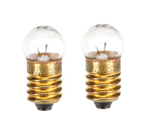 Preisvergleich Produktbild Glühlampe Glühbirne E10 3V/0,11A 2 Stück (8228)
