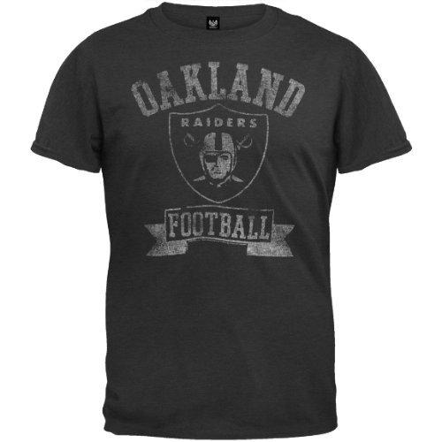 Old Glory NFL Oakland Raiders - Vintage Logo Soft T-Shirt