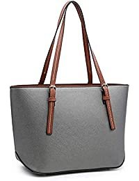 Womens PU Tote Bags, oteawe Women Purses and Handbags Casual Crossbody Shoulder