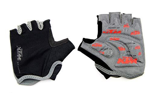 KTM MTB Bike Fahrrad Kurzfinger Handschuhe Größe M Inkl. Key Holder 5-301