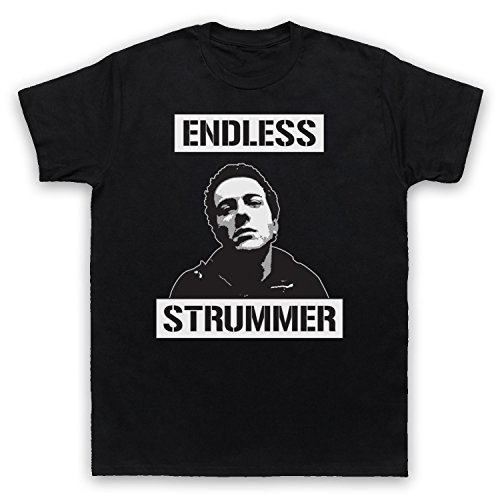 Inspiriert durch Joe Strummer Endless Strummer Unofficial Herren T-Shirt Schwarz