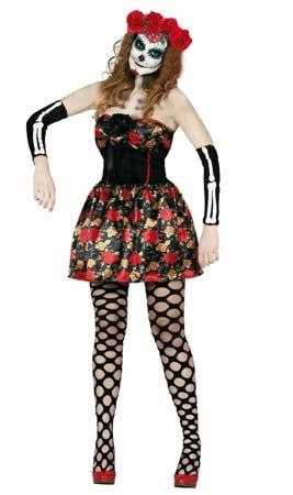 Imagen de disfraz de catrina adulta talla m 38 40