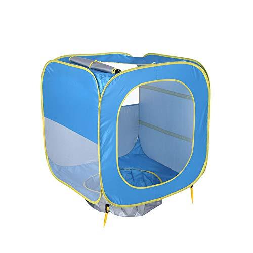 Takkar Pop up Zelt Wurfzelt Tragbares Strand-Zelt automatisches Campingzelt - wasserbeständig, belüftet und haltbar - für Outdoor Sport Camping Wandern Reisen Strand 3-4 Personen (A)