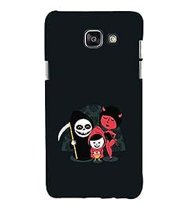 EPICCASE devils Mobile Back Case Cover For Samsung Galaxy A3 (Designer Case)