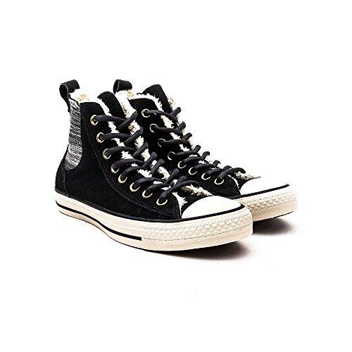 Converse Ct Vin Shr, Unisex-Erwachsene Hohe Sneakers schwarz/beige
