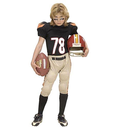 Widmann 58686 - American Football-Spieler Kostüm für Jungen, 5 bis 7 (Football Kostüme Jungen Spieler Für)