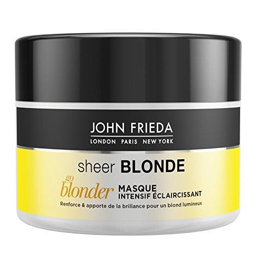 John Frieda Sheer Blonde Go Blonder - Mascarilla para cabello claro, 250ml