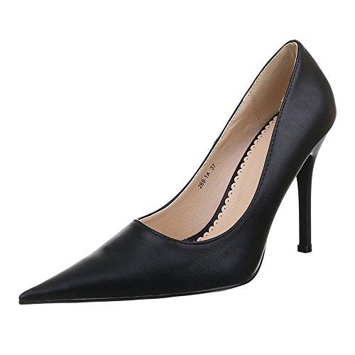 Ital-design - Chaussures Femme Nero Platform