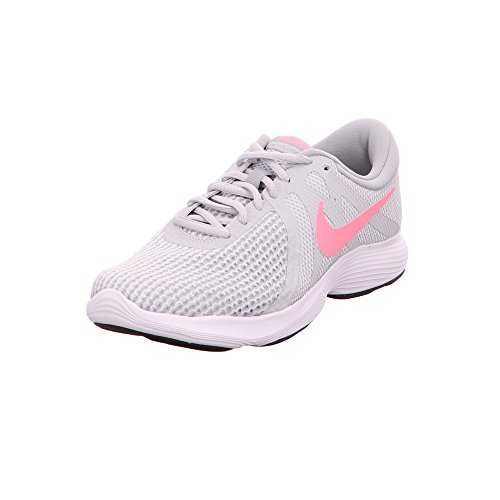 Nike Wmns Revolution 4 Eu, Scarpe da Running Donna, Multicolore (Pure Platinum/Sunset Pulse/Wolf...